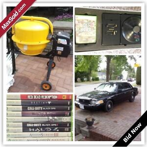 Burnaby Downsizing Online Auction - Oakland St.  (June 2)