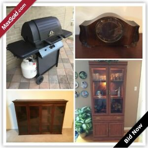 Ottawa Moving Online Auction - Featherston Drive (Sept 22)