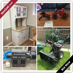 Mississauga Downsizing Online Auction - Manion Road (May 25)