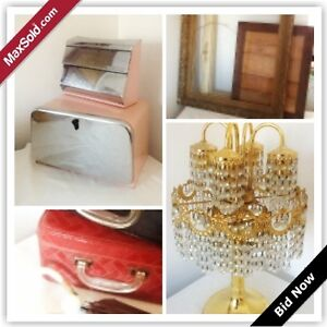Toronto Downsizing Online Auction - Crewe Ave (May 4)