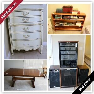 London Downsizing Online Auction - North Centre Road (Dec 12)