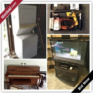 Kingston Downsizing Online Auction - Forest Hill Drive (June 1)