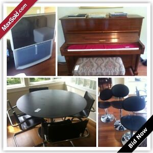 Vancouver Moving Online Auction - W 21st Ave. (Aug 28)