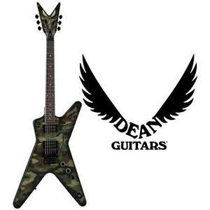 NEW DEAN DIMEBAG ELECTRIC GUITAR Dimebag Dime Camo ML Electric Guitar - MUSICAL INSTRUMENTS 109535625