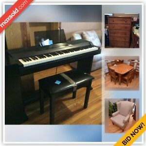 Toronto Moving Online Auction - Wychwood Avenue(Dec 6)