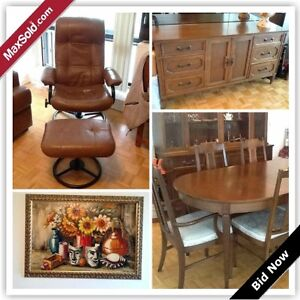 Toronto Downsizing Online Auction - Antibes Drive (June 23)