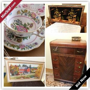 Oakville Downsizing Online Auction - Lambeth Road (May 26)