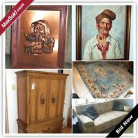 Thornhill Moving Online Auction - closes Dec 2