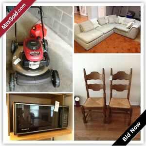 Kingston Downsizing Online Auction - Tanglewood Drive(Sept 28)