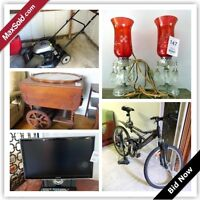 Kingston Downsizing Online Auction - Holland Crescent