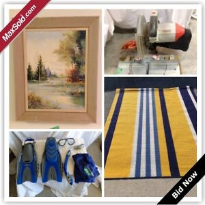 Barrie Downsizing Online Auction - Cloughley Dr (July 27)