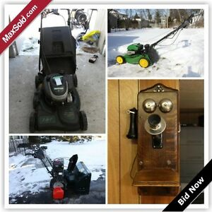 Kingston Downsizing Online Auction - Campbell Crescent (Feb23)