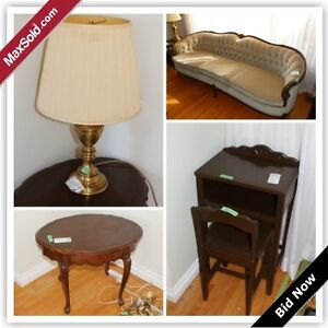 Barrie Downsizing Online Auction - Clover Ave(March 30)