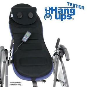 NEW TEETER VIBRATION CUSHIONS 196323374 HANG UPS BETTER BACK MASSAGE W/NECK SUPPORT