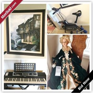 Chilliwack Downsizing Online Auction (June 1)