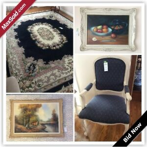 Thornhill Downsizing Online Auction - Delair Crescent(Jan 18)