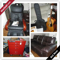 Uxbridge Moving Online Auction - Maple St