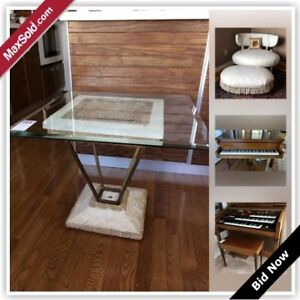 Vancouver Downsizing Online Auction - Broughton Street