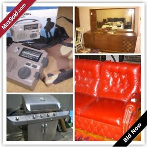 Markham Moving Online Auction - Willowgate Drive (Aug 24)