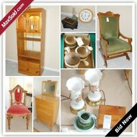 Perth (Ontario, Canada) Downsizing Online Auction - Oak Lane