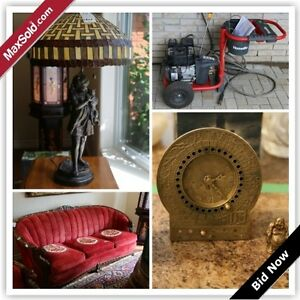 Whitby Downsizing Online Auction - Bagot St. (Sept 1)