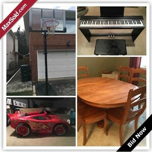 Etobicoke Downsizing Online Auction - Richdale Court(Nov 2)