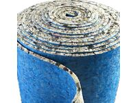 Luxury 10mm Thick Carpet Underlay, £35 per Roll