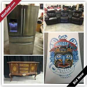 Vancouver Downsizing Online Auction-East Hastings Street(June22)