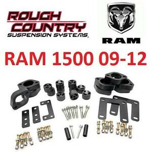 "NEW RC DODGE RAM LIFT KIT 09-12 1.25"" - ROUGH COUNTRY DODGE RAM 1500 09-12 106582534"