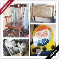 London Moving Online Auction - Roe St (Storage)