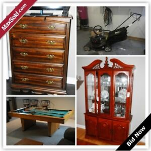 Brockville Moving Online Auction - Pineview Road(Jan 19)