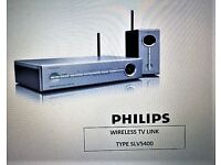PHILIPS WIRELESS TV LINK Type SLV5400 in Very Good Condition.