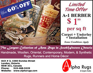 Rugs & Carpets limited stock upto 60% off
