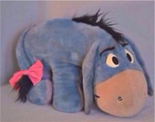 XL Eeyore teddy for sale Christmas