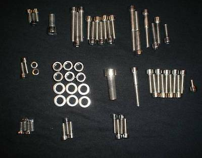 Suzuki Pe175 1978-1979 Polished Stainless Engine Bolt Screw Set Kit