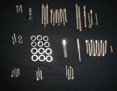 Suzuki Gt550 Gt 550 Polished Stainless Engine Bolt Screw Set Kit