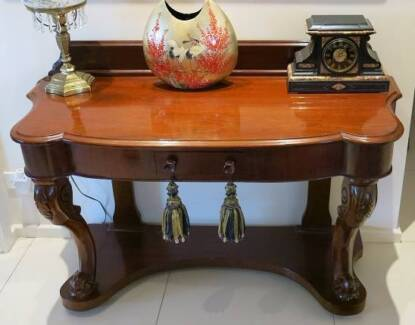 Antique Mahogany Hall Table. Canberra Region  ACT   Antiques  Art   Collectables   Gumtree