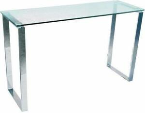 GLASS CONSOLE TABLE ON SALE (BF-141)