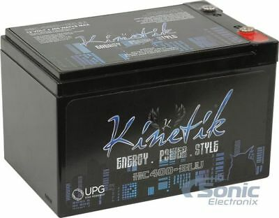 Kinetik HC400 BLU 400 Watt 12 Volt High Current AGM Car Audi