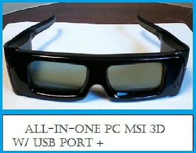 All-In-One PC MSI 3D Glasses w/USB Port