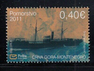 "MONTENEGRO Italian Steamer ""Brindisi"" MNH stamp"