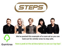 2x Steps Tickets -- Read the ad description before replying!!