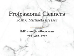 Commercial Cleaners Ready to Help Your Business!