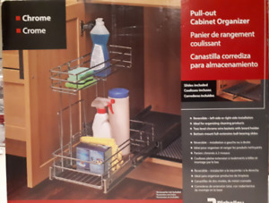 Slide Out Cupboard Organizer - Kitchen/Bathroom
