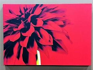 Red Flower Canvas Art