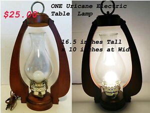 Vintage Assortment of Electrical Lamps ---H8Z1W9