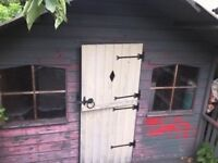 Free to go, old garden house, buyer to collect.