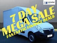2014 Vauxhall Movano F3500 L3H1 P/C CDTI Diesel white Manual