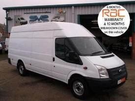 2013 13 FORD TRANSIT XLWB JUMBO 6 SPEED 4 METER LOAD AREA CHOICE OF @ SVS