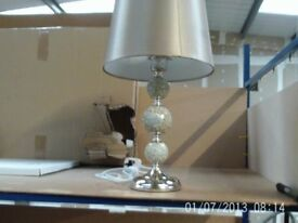 DESIGNER Mosaic Beige Table Lamp CIMC EX SHOWHOME